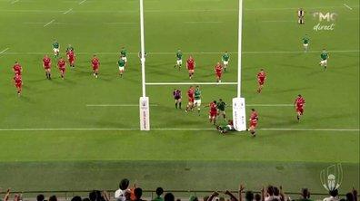 Irlande - Russie (14 - 0) : Voir l'essai de O'Mahony en vidéo