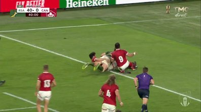 Afrique du Sud - Canada  (47 - 0) : Voir l'essai de Steyn en vidéo