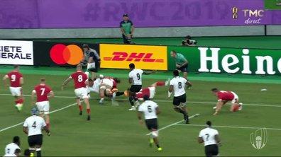 Pays de Galles - Fidji (0 - 5) : Voir l'essai de Tuisova en vidéo