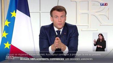 L'essentiel des annonces d'Emmanuel Macron