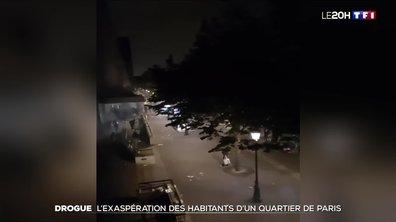 L'exaspération des habitants du quartier de Stalingrad à Paris face aux toxicomanes
