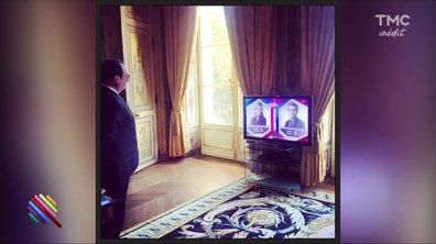 L'histoire derrière la photo de Hollande le soir du premier tour