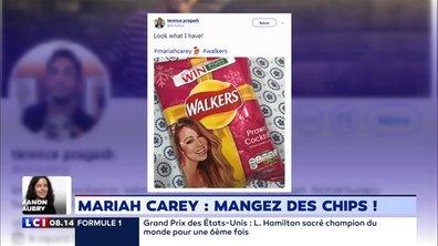 L'humeur de Beaugrand : Mariah Carey dans la nouvelle publicité de Walkers