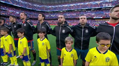 Espagne - Suède : Voir l'hymne espagnol en vidéo