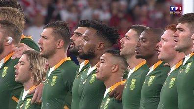 Japon - Afrique du Sud : Voir l'hymne sud-africain en vidéo