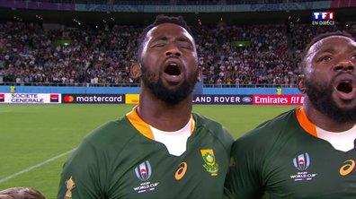 Afrique du Sud - Italie : Voir l'hymne sud-africain en vidéo