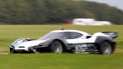 NextEv 1 : premiers tours de roues pour l'hypercar électrique !