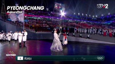 L'image du jour d'Azzeddine Ahmed-Chaouch : les deux Corées unies pour les JO