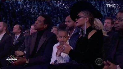 L'image du jour d'Étienne Carbonnier : Beyoncé et Jay-Z recadrés par leur fille Blye-Ivy
