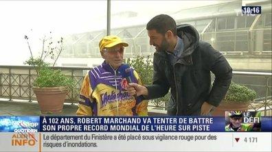 L'image du jour d'Etienne Carbonnier : Hommage à Robert Marchand, l'incroyable cycliste centenaire