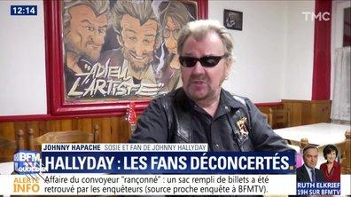 L'image du jour d'Etienne Carbonnier : Les sosies de Johnny témoignent sur BFMTV