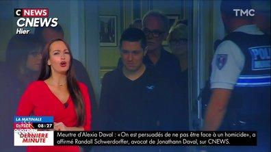 L'image du jour de Julien Bellver : Jonathann Daval se glisse dans la météo de CNews