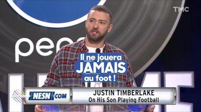 L'image du jour de Lilia Hassaine : Justin Timberlake, son fils ne fera pas de Football US