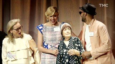 L'image du jour de Lilia Hassaine : une Agnès Varda en carton aux Oscars