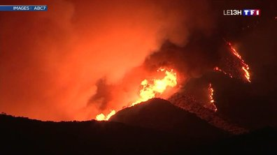 L'incendie de forêt en Californie reste incontrôlable