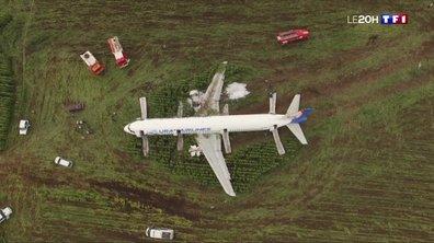 L'incroyable atterrissage d'un Airbus dans un champ de maïs