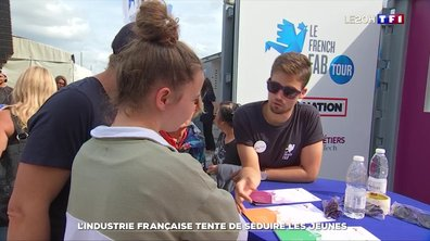 L'industrie française tente de séduire les jeunes