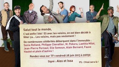 Nos Chers Voisins vous invitent vendredi 28 juin à 20h50 !