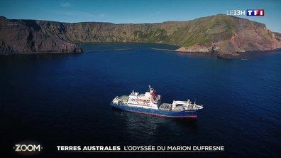 L'odyssée du Marion Dufresne dans les Terres Australes