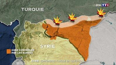 L'offensive turque en Syrie soulève de nombreuses questions