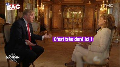 "La BAC : le ""bon goût"" selon Donald Trump"
