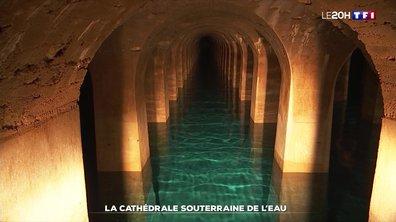 La cathédrale souterraine de l'eau