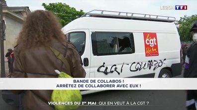 La CGT prise pour cible lors du défilé du 1er-Mai à Paris