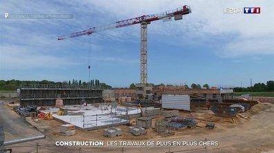 La construction face à la flambée des prix des matériaux
