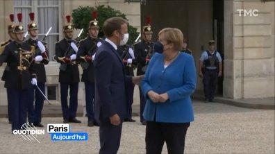 La dernière visite d'Angela Merkel