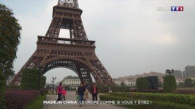 La fascination de la Chine pour l'architecture européenne