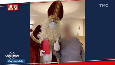 La fausse bonne idée: invité dans un EHPAD, un Père Noël contamine 59 résidents