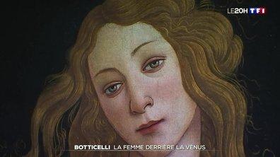 La femme derrière la Vénus de Botticelli