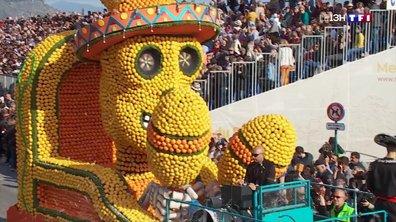 La fête du citron, une parade vitaminée qui illumine Menton