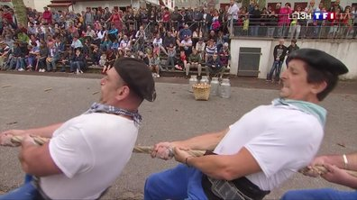 La force basque, une compétition traditionnelle qui nécessite de l'endurance