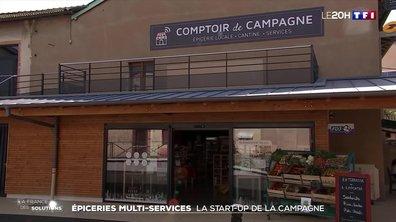 La France des solutions : épiceries multi-services, la start-up de la campagne