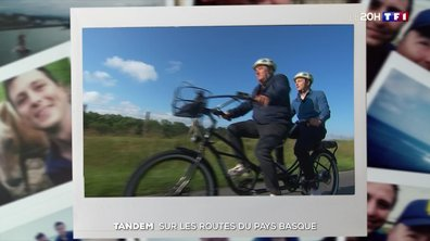 La France en tandem : sur les routes du Pays basque avec Fabien Onteniente