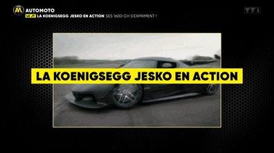 VIDEO - Découvrez l'hypercar Jesko en action !