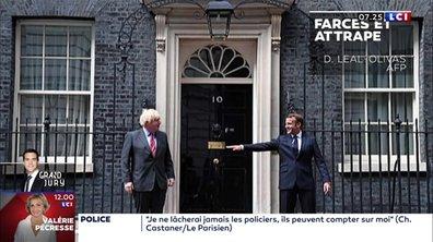 La main tendue d'Emmanuel Macron à Boris Johnson