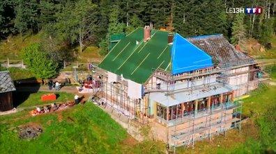 La maison forestière du Spitzberg en pleine rénovation
