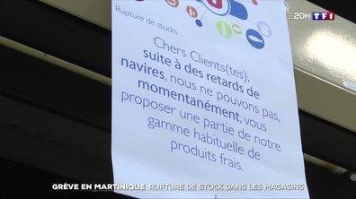 La Martinique commence à manquer de tout à cause de la grève