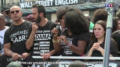 La mobilisation contre les violences policières ne faiblit pas