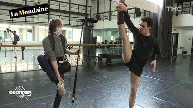 La Mondaine passe la journée avec le danseur étoile Paul Marque