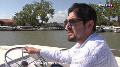 La navigation reprend sur le Canal du Midi