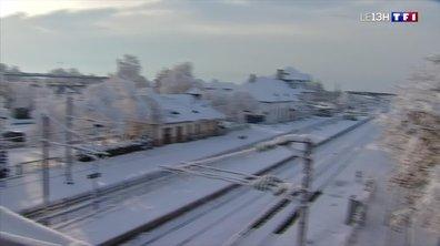 La neige continue de tomber en Alsace