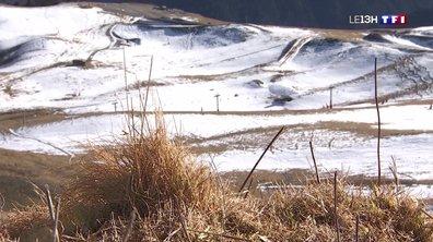 La neige manque cruellement à Luchon-Superbagnères
