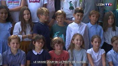 La photo de classe, une tradition de la rentrée scolaire