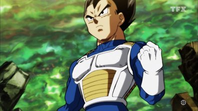 Dragon ball super - EP112 - La promesse d'un Saiyen. La détermination de Vegeta !