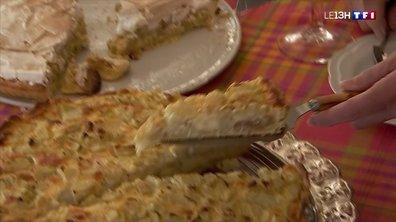 La récolte de la rhubarbe en Alsace, annonciatrice de la saison des tartes