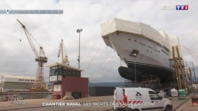 La renaissance des chantiers navals de La Ciotat