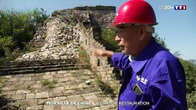 La restauration de la muraille de Chine, un chantier titanesque